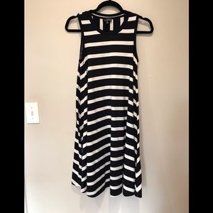 The Limited Striped Swing Dress.  Size XS